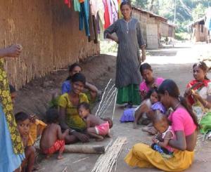 A Kotwalia village