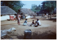 Rural residential area of scavenging community, Pudukottai, Tamilnadu