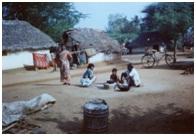 Rural residential area of scavenging community, Pudukottai, Tamilnadu