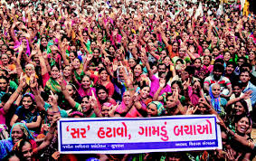 Anti-SIR rally in Mandal-Becharaji area of North Gujarat