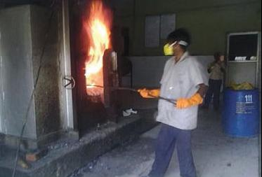 Burning of biomedical waste at a hospital in Halol, Gujarat: Not allowed in BMW Rules