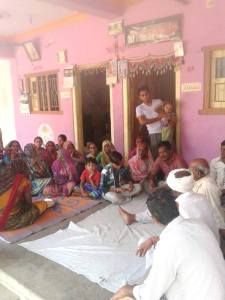 Villagers' meet to end caste discrimination