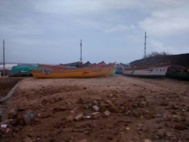 Chorwad fishing harbour: In poor state