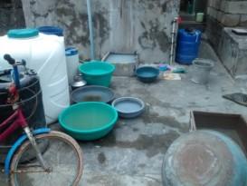 Erratic water supply in Ward No 7, where fishermen live