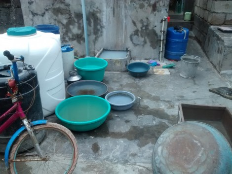 Erratic water supply in Ward No 7, where fishermen live