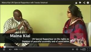 special rapporteur