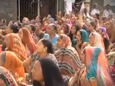 Rural women protest against the new 20-km-long alignment of Junagadh bypass