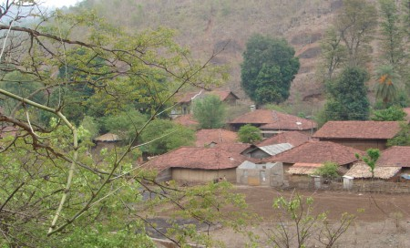 One of the villages of Par-Nar Basin which would be affected by both diversion projects