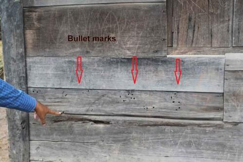 bullet-marks