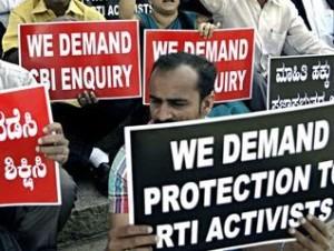 rti activists