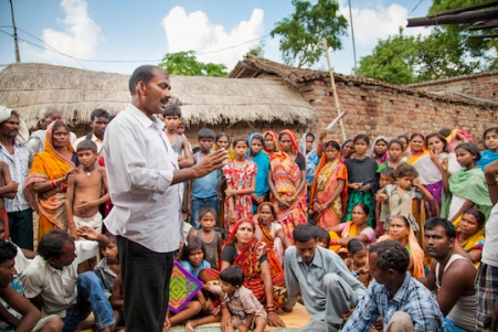 As leader of the village land rights committee, Sohan was responsible for mobilising the Salaha villagers, explaining their rights and empowering them to take action