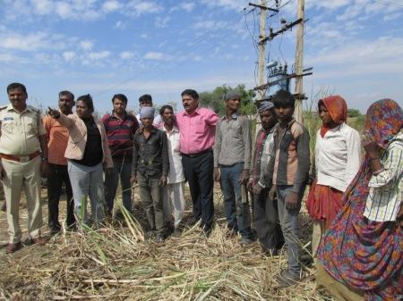 jan sahas released bonded labourers