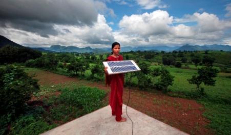 woman-solar