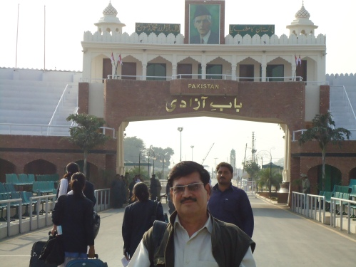 Lahore Travail-Wagah Border