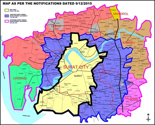 Surat Urban Development Plan 2035 A Well Planned Land Grab In The