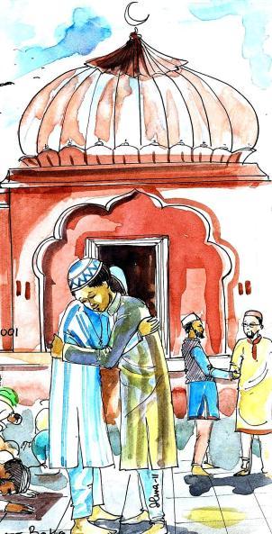 Ilma Eid painting