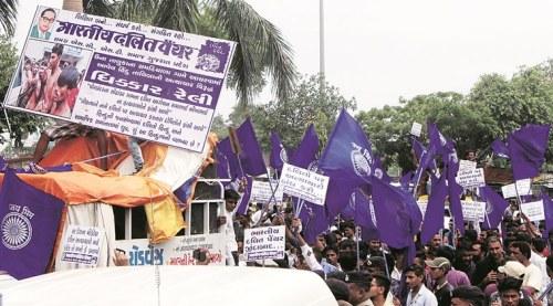 una protest