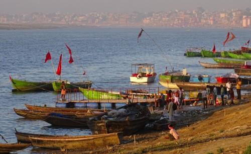 Bank of river Ganga
