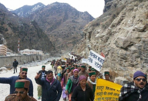 himachal-tribal-protest