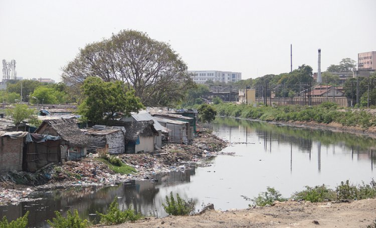 Cooum River In Chennai Is Local Synonym For An Open Sewer