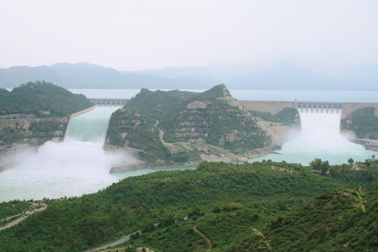 Tarbela-Dam-Spillways