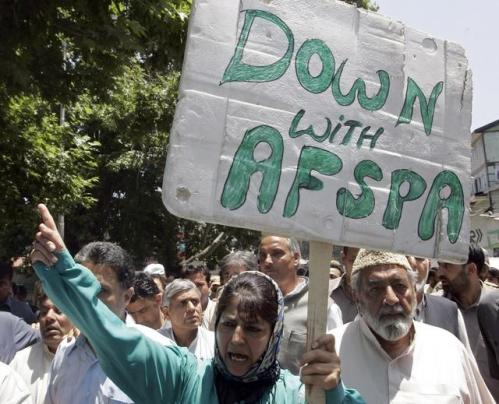afspa protest 2009