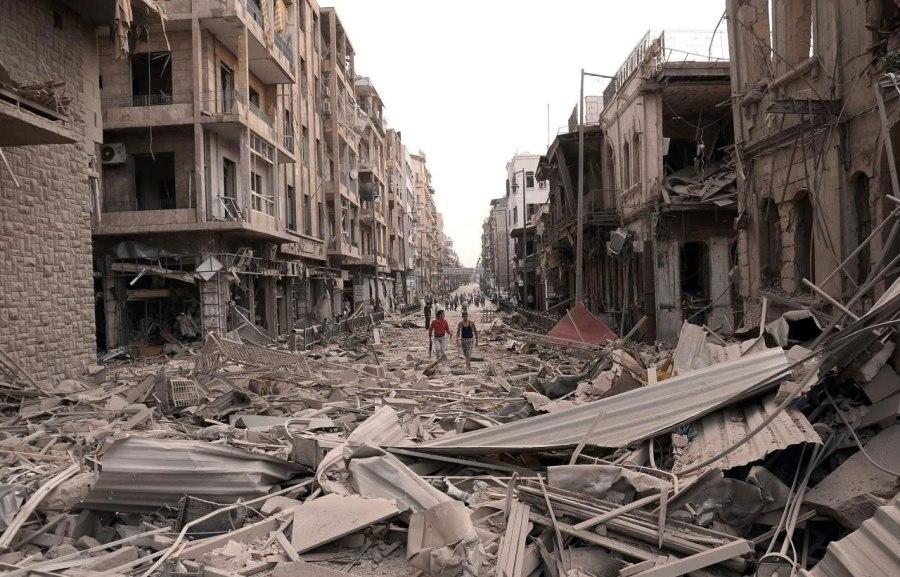 Damaged-Buildings-Syrian-Civil-War