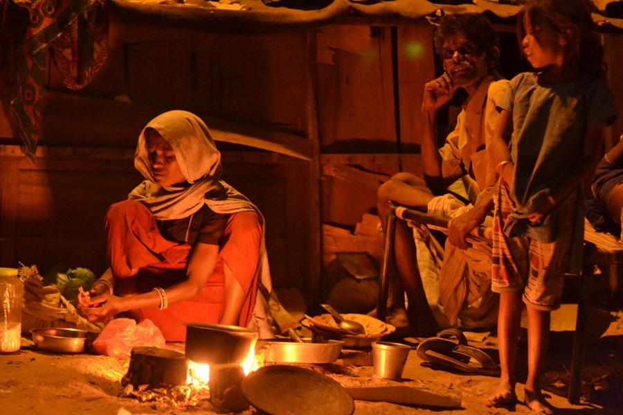 7. Women Workers spend a median of 2.5 hours on cooking alone, as they still rely on firewood. (2)