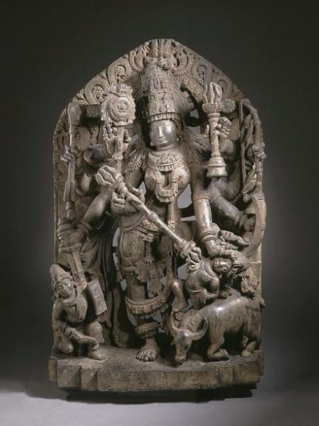 Durga_Slaying_the_Buffalo_Demon_LACMA_M.70.1.1_(7_of_7)