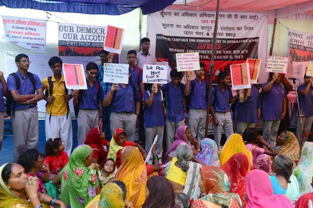 rti protest