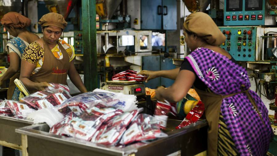 Operations At A Suhana Spice Factory Ahead of GDP Figures